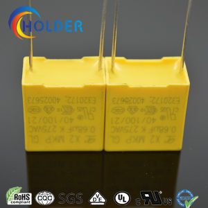 New Box Metallized Polypropylene Film Capacitor (X2 0.68UF/275V D7) pictures & photos
