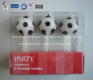 Unique Football Shaped Candle for Birthday/Party Supplies pictures & photos