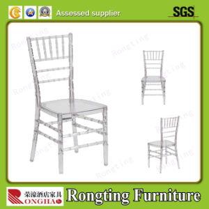 Acrylic Transparent Stacking Wedding Chiavari Chair (RH-53019)