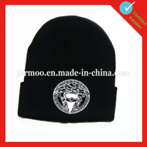 Custom Knitted Jacquard Acrylic Beanie Hat pictures & photos