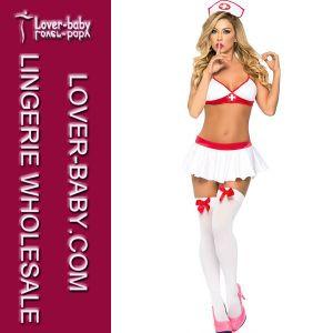 2015 Halloween Sexy Fancy Nurse Costume (L15218) pictures & photos