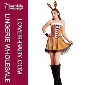 Women Reindeer Christmas Dress Suit (L70932) pictures & photos