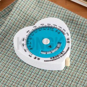 Large Heart-Shaped Waist Tape Measure