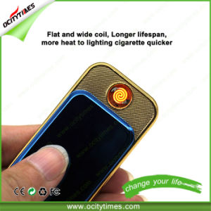 Ocitytimes Slide USB Cigarette Lighter with Flat and Wide Coil pictures & photos