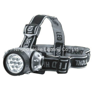 Portable Camping Outdoor Light 7/9/12 LED Headlamp (MK-3001)