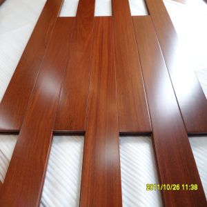 Living Room for Children Use Cumaru Solid Wood Flooring