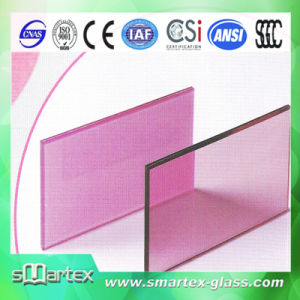 Colored Tempered Laminated Glass Grind Edge with CE and ISO9001