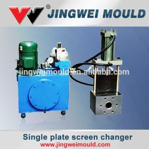 Single Plate Type Double Working Station Screen Changer