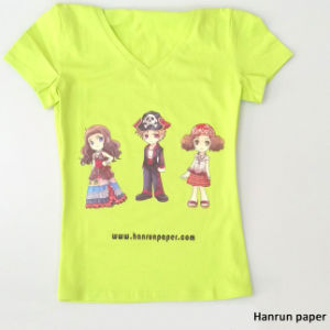 PU Coating Layer, Easy Cutting Dark T-Shirt Heat Transfer Paper Transfer Printing for 100% Cotton Fabric pictures & photos