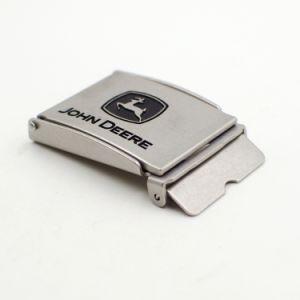 Custom Logo Epoxied Metal Alloy Belt Buckle Manufacturer pictures & photos