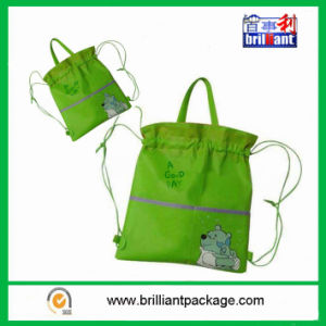 Promotional Nylon Material Drawstring Bag pictures & photos