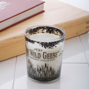 New Design Printed Scented Soy Glass Candle pictures & photos