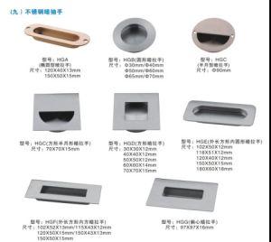 Professional Door Handle Concealed Door Handle Recessed Handle pictures & photos