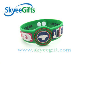 Popular PVC Wristband Hot Sale pictures & photos