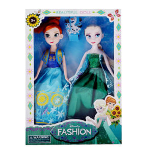 9 Inch Plastic Beautiful Frozen Toy Doll (10241479) pictures & photos