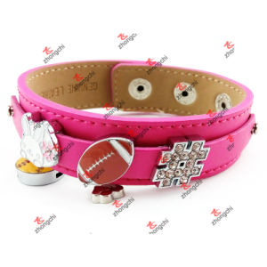 Wholesale Fashion Custom Jewelry Personalized Handmade Leather Bracelets (FCB51111) pictures & photos
