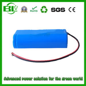 2s1p 7.4V 2600mAh Rechargeable Battery 18650 Li-ion Battery pictures & photos