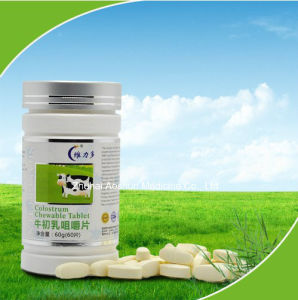 2015 High Quality Colostrum Chewable Tablet pictures & photos