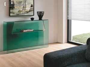 First Class Glass Console Table Manufacture pictures & photos
