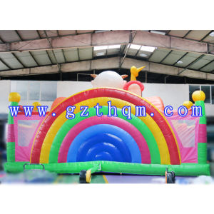 Inflatable Pirate Jumping Castle/Kid Castle Entertainment Inflatable Trampoline pictures & photos