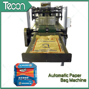 High-Speed Automatic Valve Paper Bag Making Machinery pictures & photos