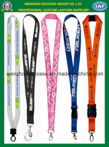 Professional Manufacturer of Eco-Friendly Heat Transfer Printing Lanyard pictures & photos