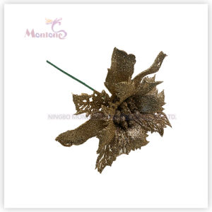PVC Artificial X′mas Decorative Flowers for Christmas Tree Decoration pictures & photos