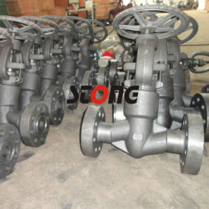 Pressure Seal Bonnet Forge Steel Globe Valve with RF, Rtj pictures & photos