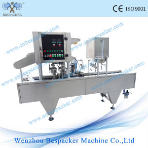 Plastic K Cup Coffee Capsule Sealing Filling Machine pictures & photos