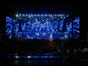 Transparent LED Mesh Curtain LED Video Wall (P16) pictures & photos