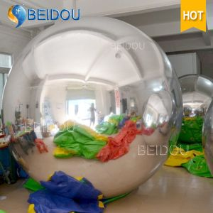 Factory Wholesale Decorative Mirror Balloon Ornaments Mini Disco Inflatable Mirror Ball pictures & photos