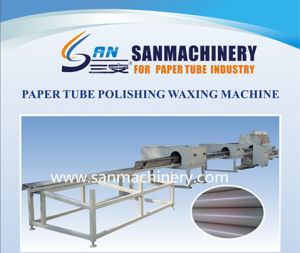 Paper Tube Polishing and Waxing Coated Machine pictures & photos