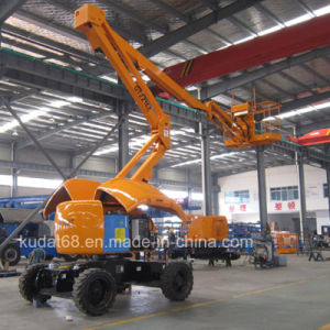 16m Folding Adjustable Aerial Work Platform Gtzz16z pictures & photos