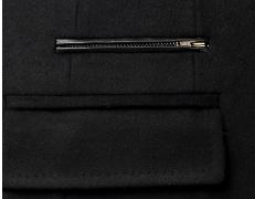 Top-Quality Men′s Winter Padding Woolen Fashion Long Coat pictures & photos