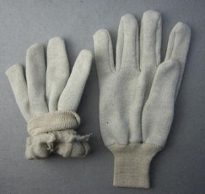 Jersey Liner Cotton Work Glove Knit Wrist (2119) pictures & photos
