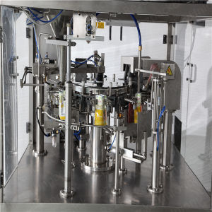 Automatic Chicken Weighing Filling Sealing Food Packing Machine pictures & photos