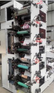 Zb -320 5 Color Flexographic Printing Machine pictures & photos