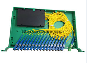 1*16 Sc Rack Mounted PLC Splitter pictures & photos