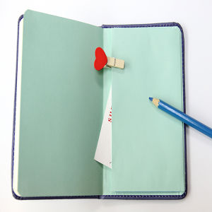 Hard Cover Notebook with Rubber Band/Embossing Notebook pictures & photos
