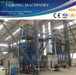 Plastic Auxiliary Machine Hot and Cooling PVC WPC Mixer Machine pictures & photos