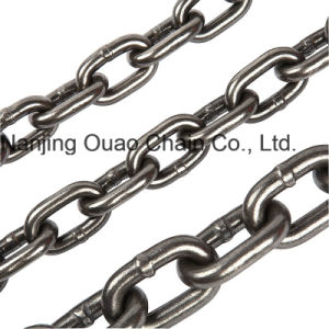 DIN5687 G80 Black Hot DIP Zinc High Test Lifting Iron Metal Steel Link Chain for En818-2