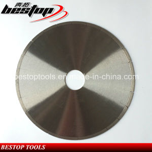 Laser Welding Fish Hook Diamond Marble Cutting Disc pictures & photos