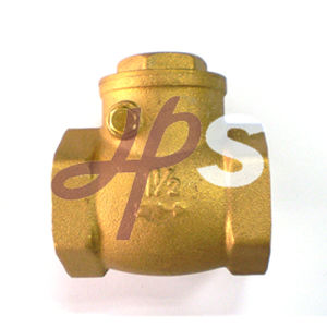 High Quality Forging Brass Swing Check Valve pictures & photos