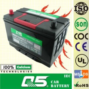 650, 12V80AH, South Africa Model, Auto Storage Maintenance Free Car Battery, PE+GM battery pictures & photos