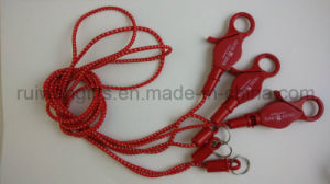 Custom Plastic Springs Mobile Strap with Coil Keychain pictures & photos