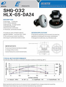 Hcx-Da24 Vacuum Cleaner Motor pictures & photos