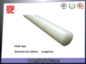 White Building Material PVDF Plastic Rod pictures & photos