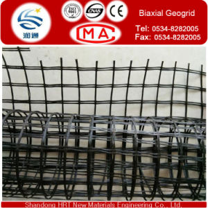 Strength Tensiles 30-30 Fiberglass Geogrid by Weaving Technology pictures & photos