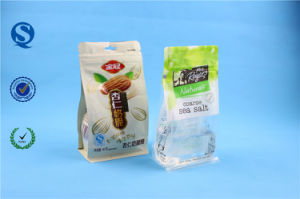 Accept Custom Order and Zipper Top Sealing & Handle Paper Zip Lock Bag for Food pictures & photos