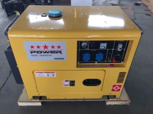 Portable Silent Diesel Generator for Home Use pictures & photos